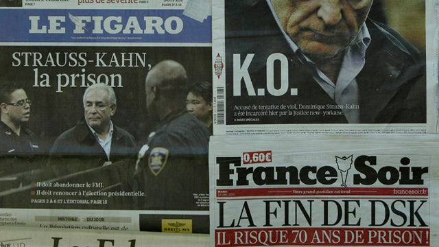 "French Media Discuss Strauss-Kahn Accuser's ""Beautiful Buttocks"""