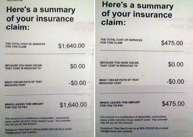 ... insurance insurance or even thousands on insurance this the number of