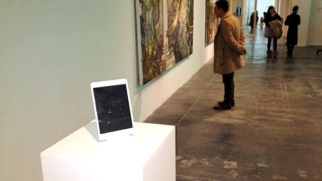 Is an iPad on a Pedestal Art?
