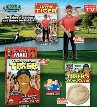 Inevitable Tiger Woods Sex Toys On Sale Now