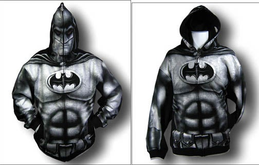 New Batman Hoodie Probably Won't Protect You Against Bullies