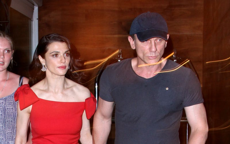 Rachel Weisz and Daniel Craig Step Out