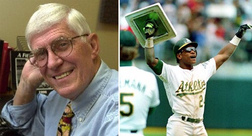 Ancient Journalist Apologizes For Chasing Rickey Henderson Off Of His Lawn