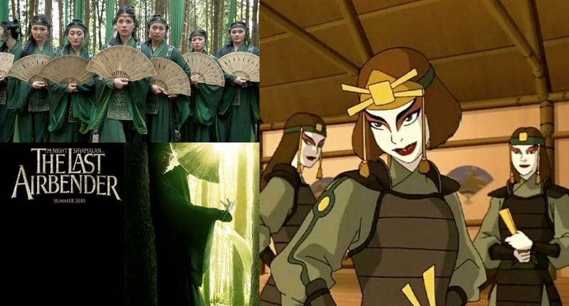 What the Last Airbender TV series has that the movie doesn't