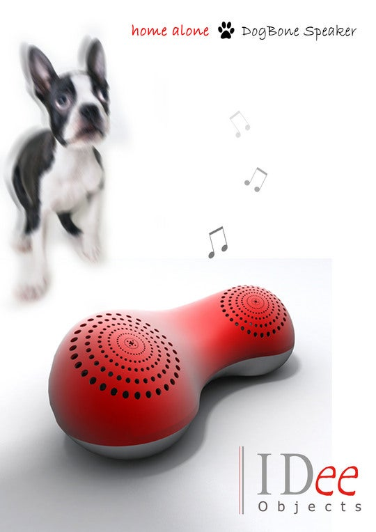 Chat to Your Mutt with the DogBone Speaker Phone
