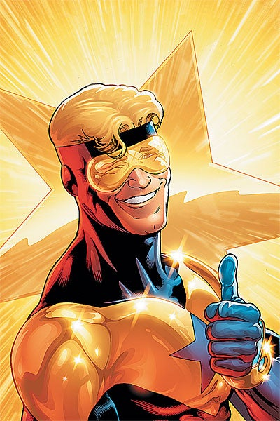 Could Booster Gold really work as a weekly TV series? Syfy hopes so.