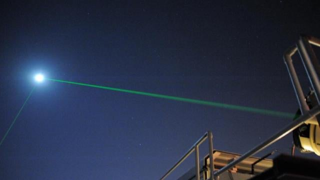 Amazing new laser is a million times weaker than a laser pointer. Yes, weaker.
