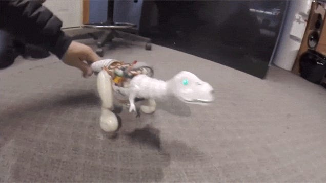Pets Will Hate This Cheeky Dino Robot