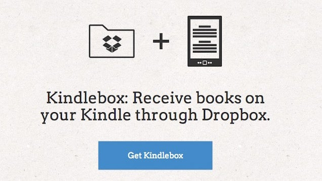 Kindlebox Automatically Sends Books from Dropbox to Your Kindle