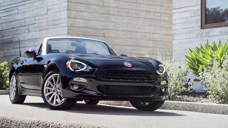 2017 Fiat 124 Spider This Is It All Official And Stuff