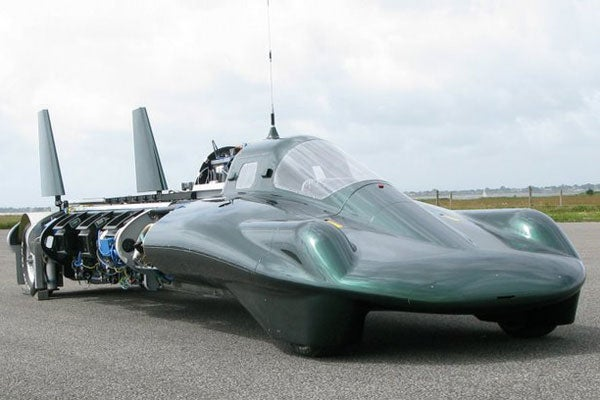 Steam-Powered Car Land Speed Record Test Successful