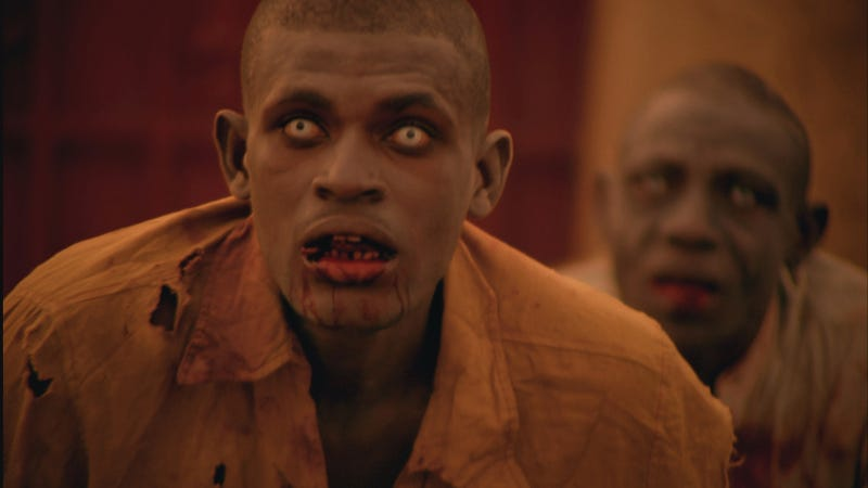 Cornfield Massacre: A Clip from the First Zombie Movie Filmed in Africa
