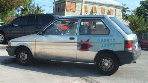 Trusty Justy!