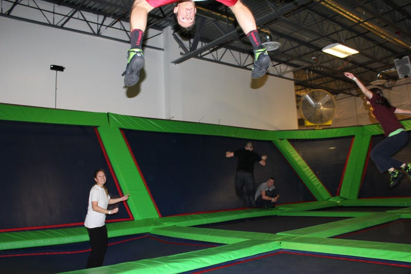 Trampoline Wars: Rebounderz And AirHeads Battle Over Where Joba Chamberlain Was Injured