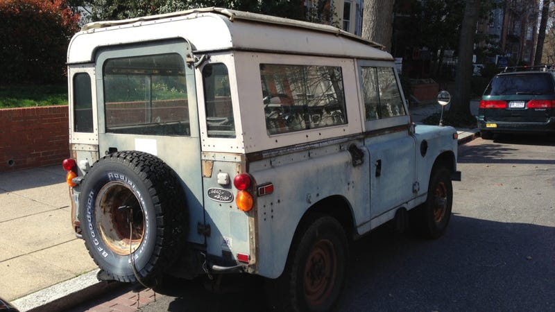 This Old Land Rover Has Been To Hell And Back