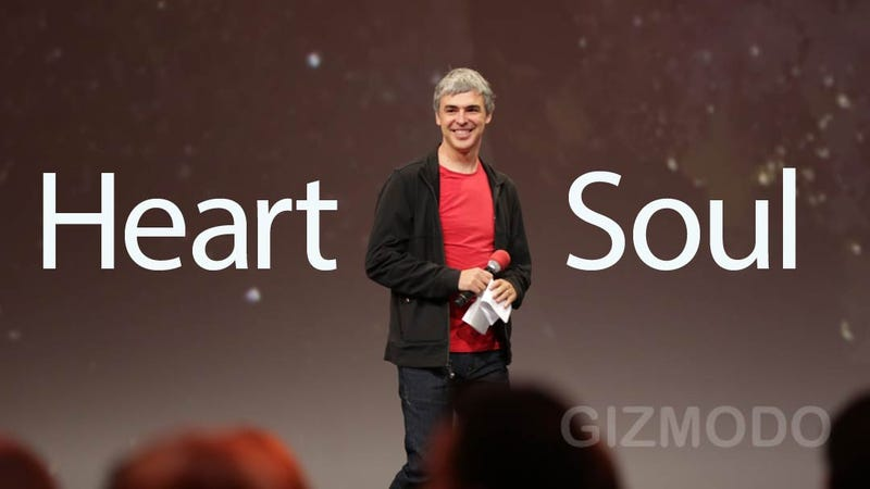 Larry Page Reminded Us Why We Love Google Today