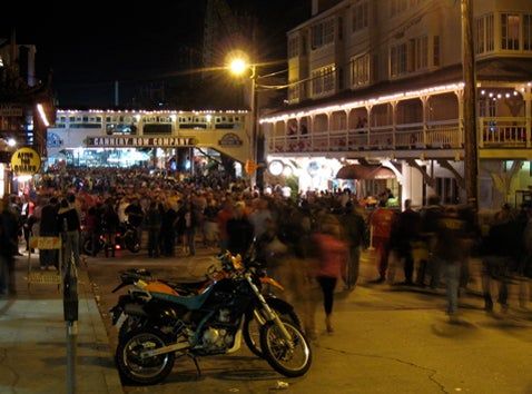 MotoGP Fans Descend on Cannery Row