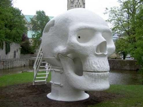 Wellness Skull Is a Sauna of Death