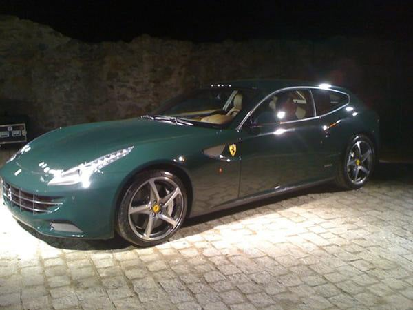 British buff book breaks Ferrari FF
