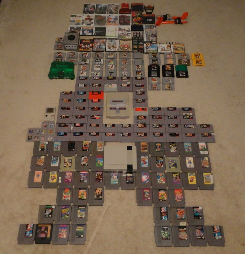 Someone Made Mario Out Of Nintendo Games