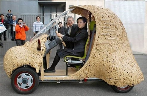 Eco-Friendly BamGoo Car Is Meal on Wheels For Pandas