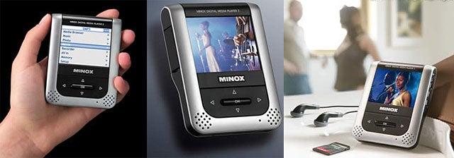 Minox DMP-3 Mini Media Player/Recorder