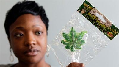 Parents Can't Chill Out About Pot-Shaped Lollipops