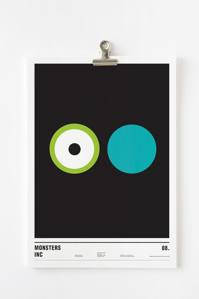 These clever movie posters are made using only circles