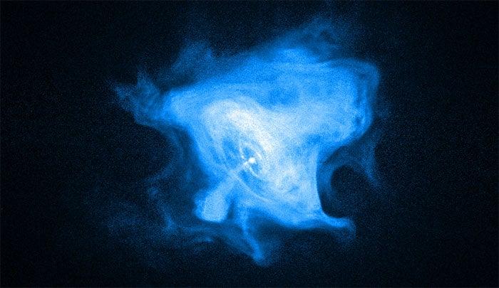 Crab Nebula's Got A Brand New Groove