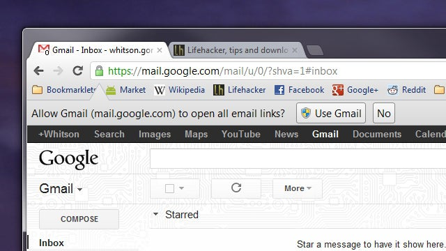 Chrome Officially Lets You Open All Email Links in Gmail