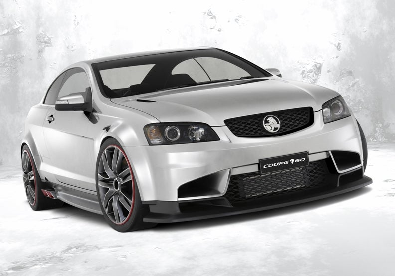 Holden Reveals Coupe 60 Concept