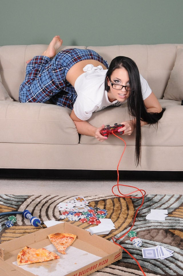 Fake Gamer of the Week: Don't Laugh, She Never Learned How to Use a Couch