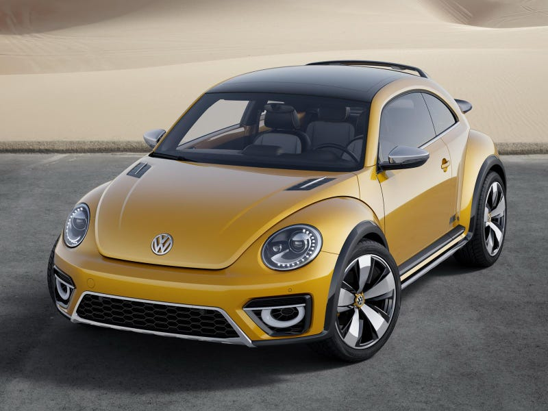 'Off-Road' VW Beetle Dune Is Go For Production, With Ragtop Version!