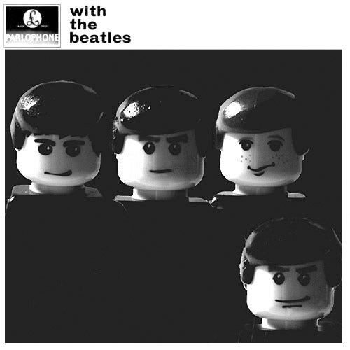 Beatles Album Covers, Starring Lego