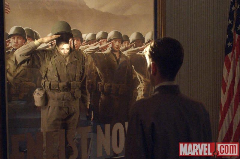 Captain America stills
