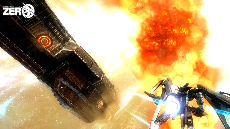 Space Combat Goes A Little Appleseed: Ex Machina, Steel Battalion