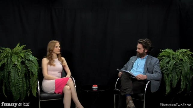 Zach Galifianakis Weirds Out a Few More Academy Award Nominees in Between Two Ferns: 'Oscar Buzz Edition' Part 2