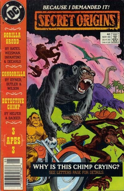 When Monkeys Ruled Comic Books!
