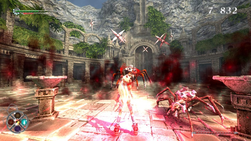 Spiders, Spirit Jawas And Elf Cleavage - X-Blades Screens For you