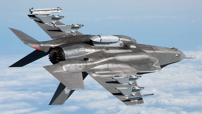 What Is That Weird Pod On This F-35 Belly?