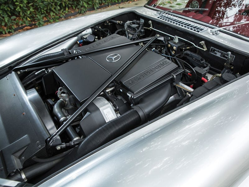 NPoCP: AMG V8 converted 300 SL Gullwing Coupe.