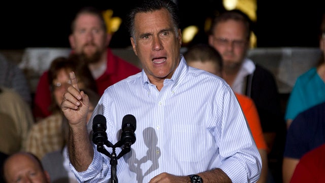 Mitt Romney Wants to Talk About the Economy Way More Than The Other Guy
