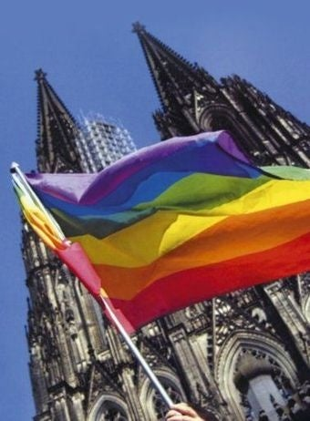 God and Satan Square Off As Episcopal Church Blesses Gay Unions