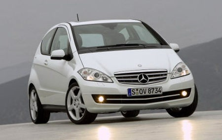 2009 Mercedes-Benz A-Class Gets Facelift, Still Not For America
