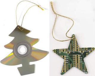 Recycled Xmas Decorations — May All Your Christmases Be Geek