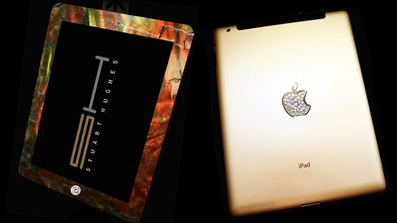 Gold iPad Decorated with Diamonds and T-Rex Bones Will Send Owner Straight to Hell