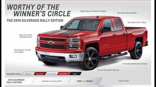 "The Silverado ""Rally Edition"" makes me sad"