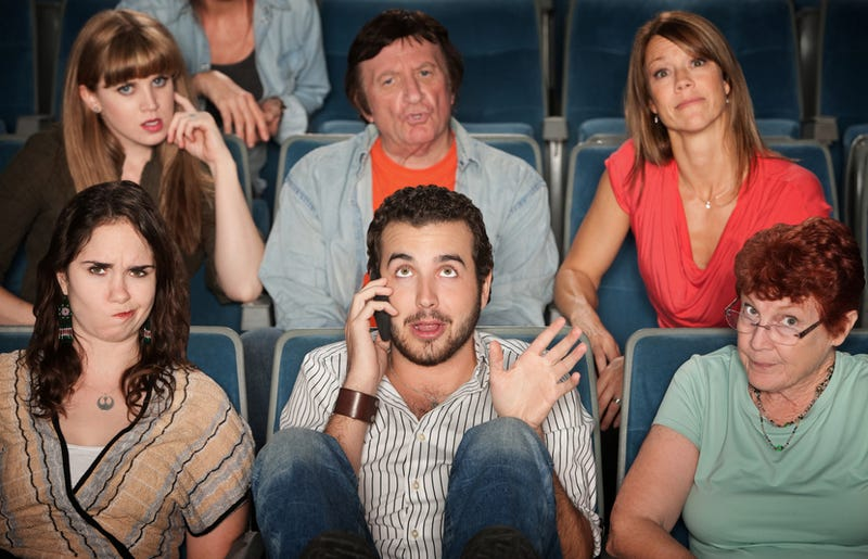 Movie Blogger Calls the Cops on Man Using Cellphone in Theater