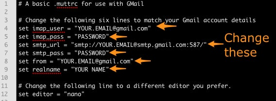 How to Use the Fast and Powerful Mutt Email Client with Gmail