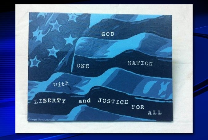 George Zimmerman Is Selling Insanely Ironic Artwork on eBay